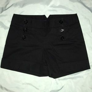Express Button Front Shorts